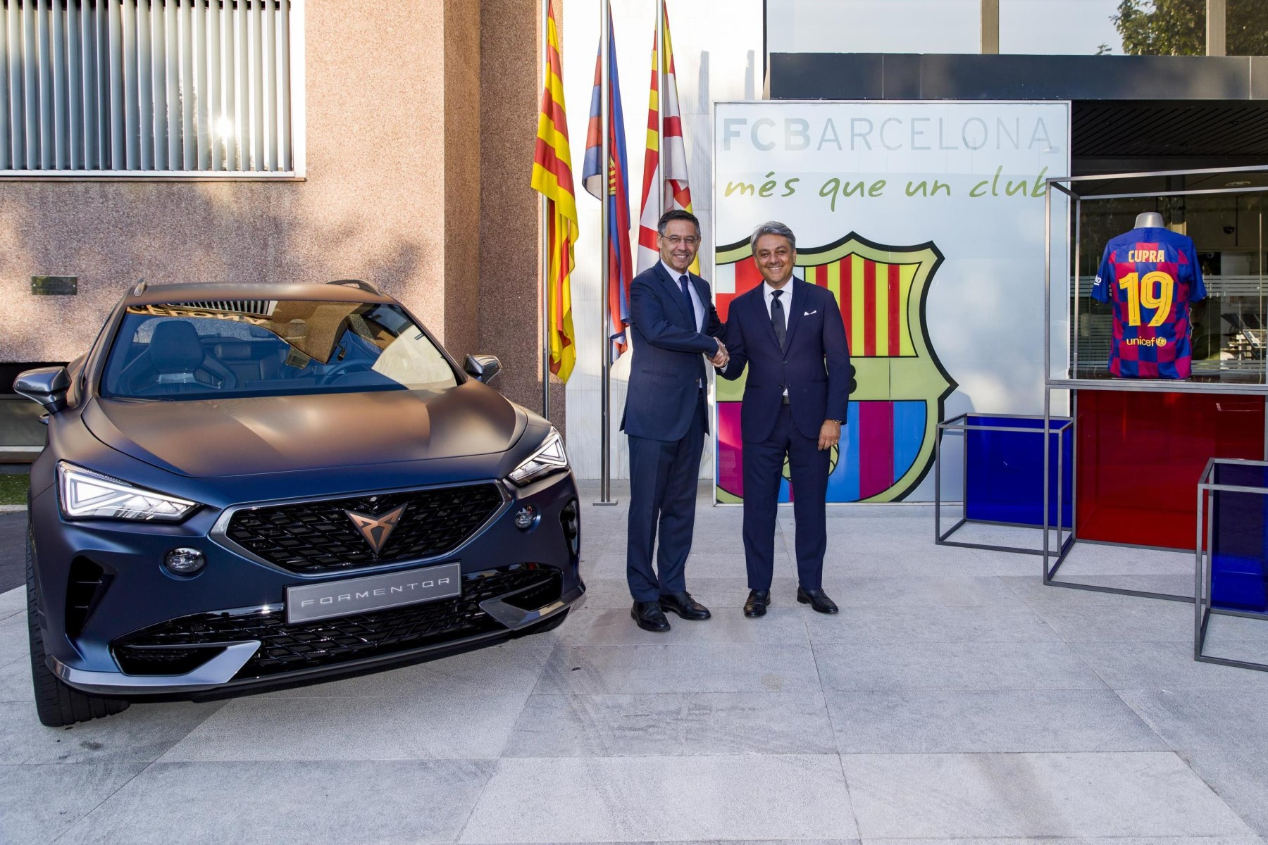 FC Barcelona and CUPRA kick off new partnership