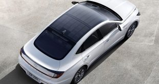 Hyundai launches car with a solar roof