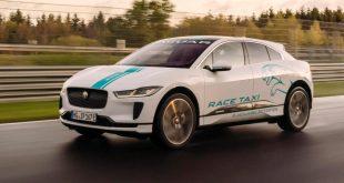 Jaguay I-Pace Nürburgring RACE eTAXI