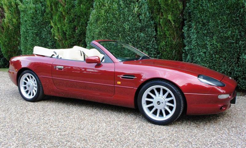 Elton John's Aston Martin DB7 Volante