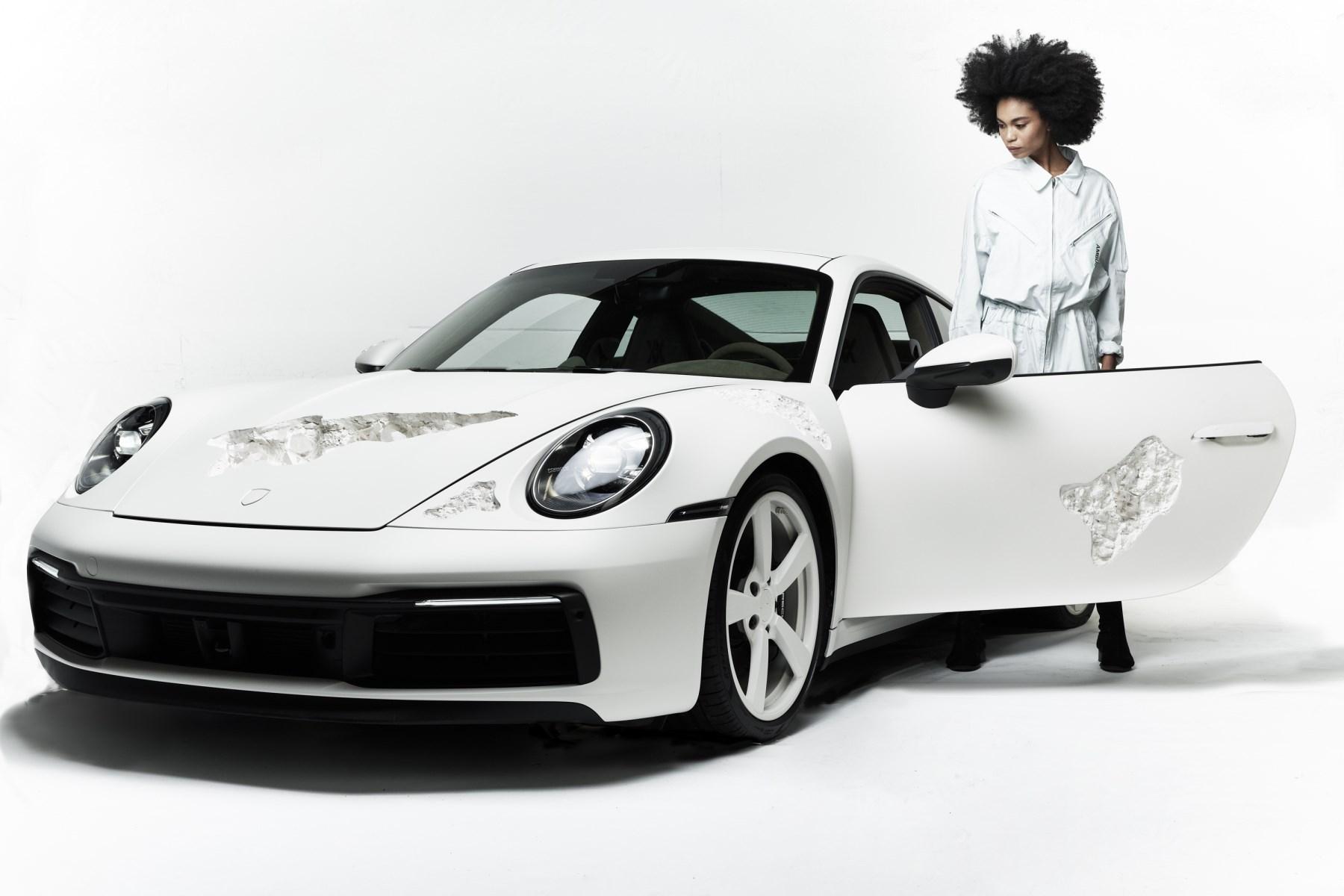 Selfridges - eroded Porsche 911