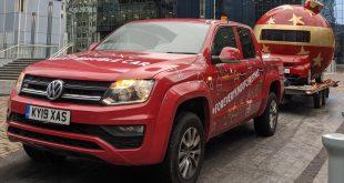 Volkswagen Amarok and Next bring Christmas cheer