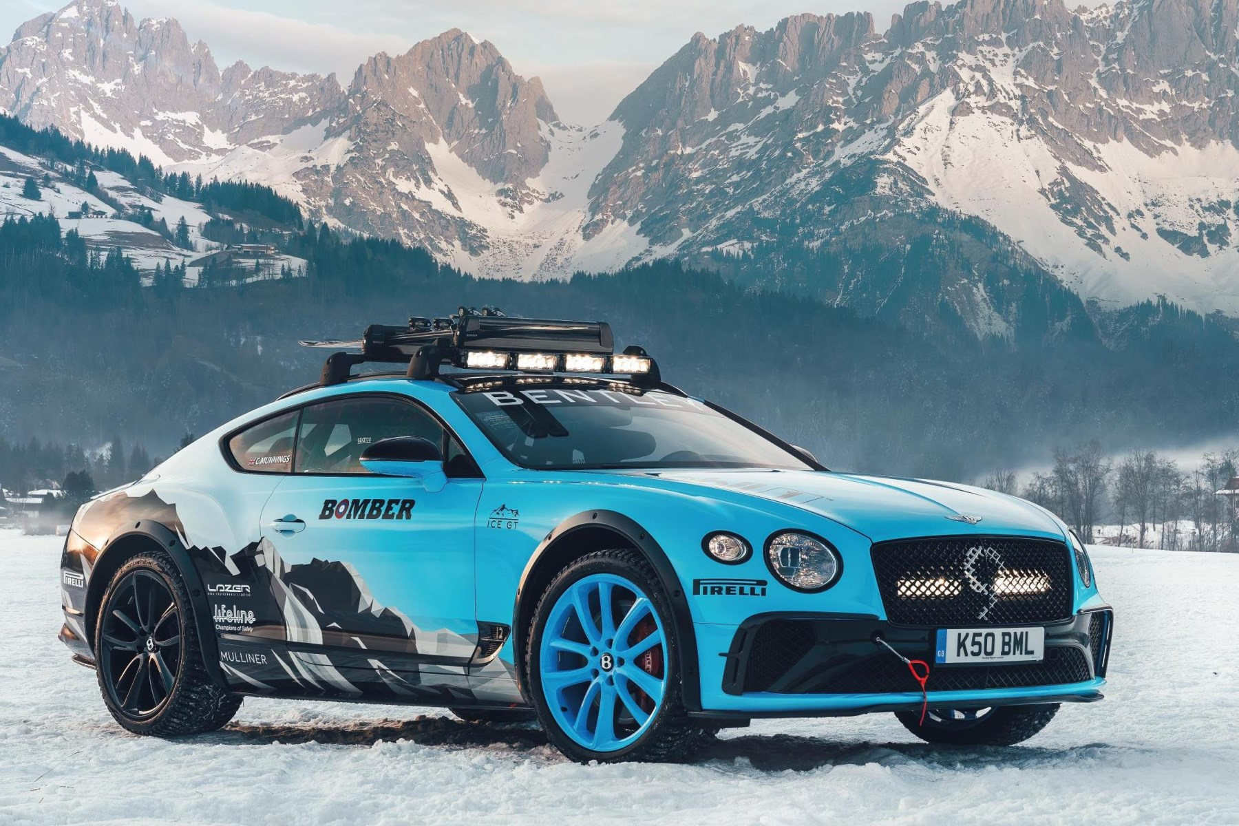 Bentley Continental GT - 2020 GP Ice Race in Zell am See, Austria