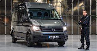 Volkswagen Commercial Vehicles van parking challenge with Alastair Moffatt