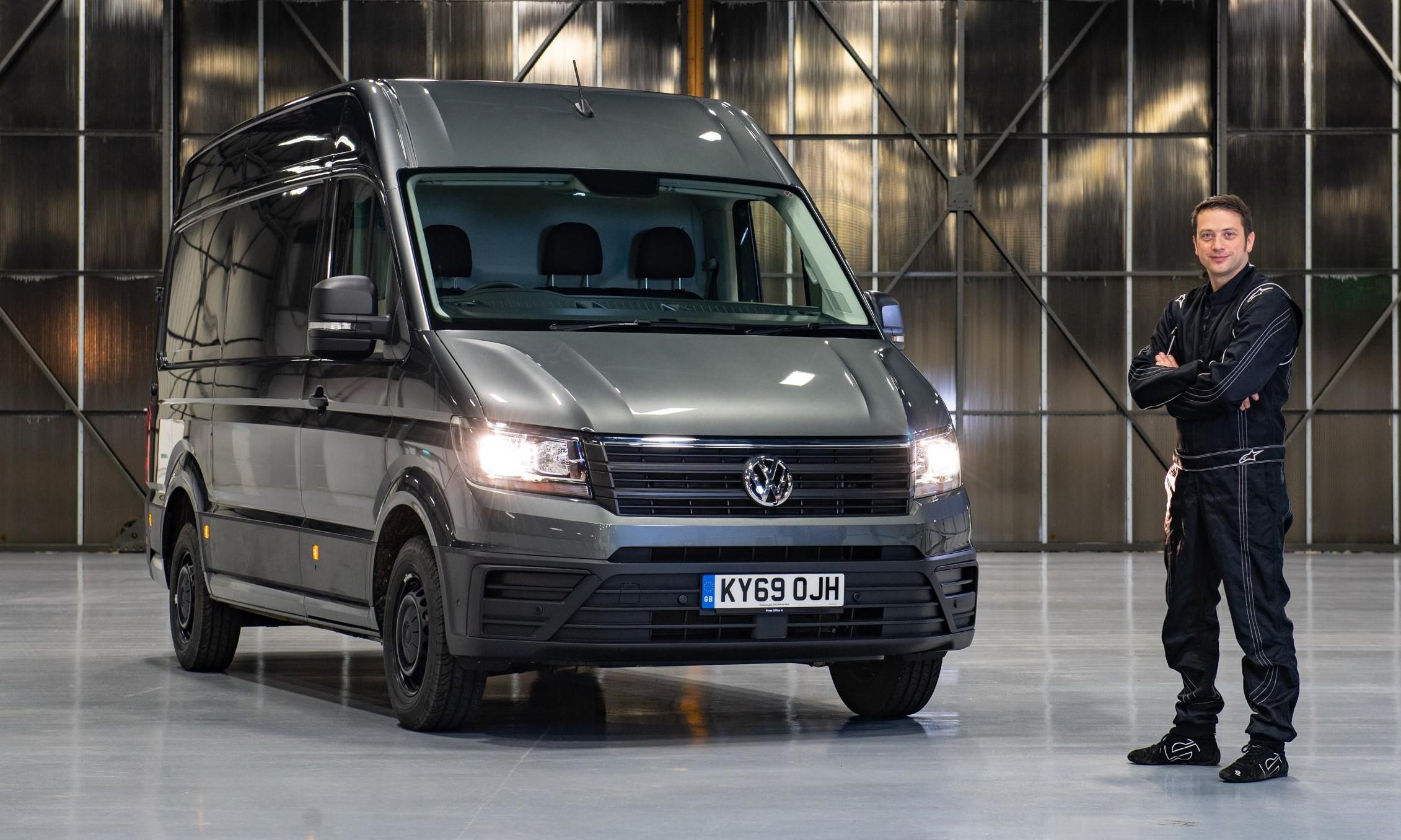 Volkswagen Commercial Vehicles van parking challenge with Alastair Moffatt