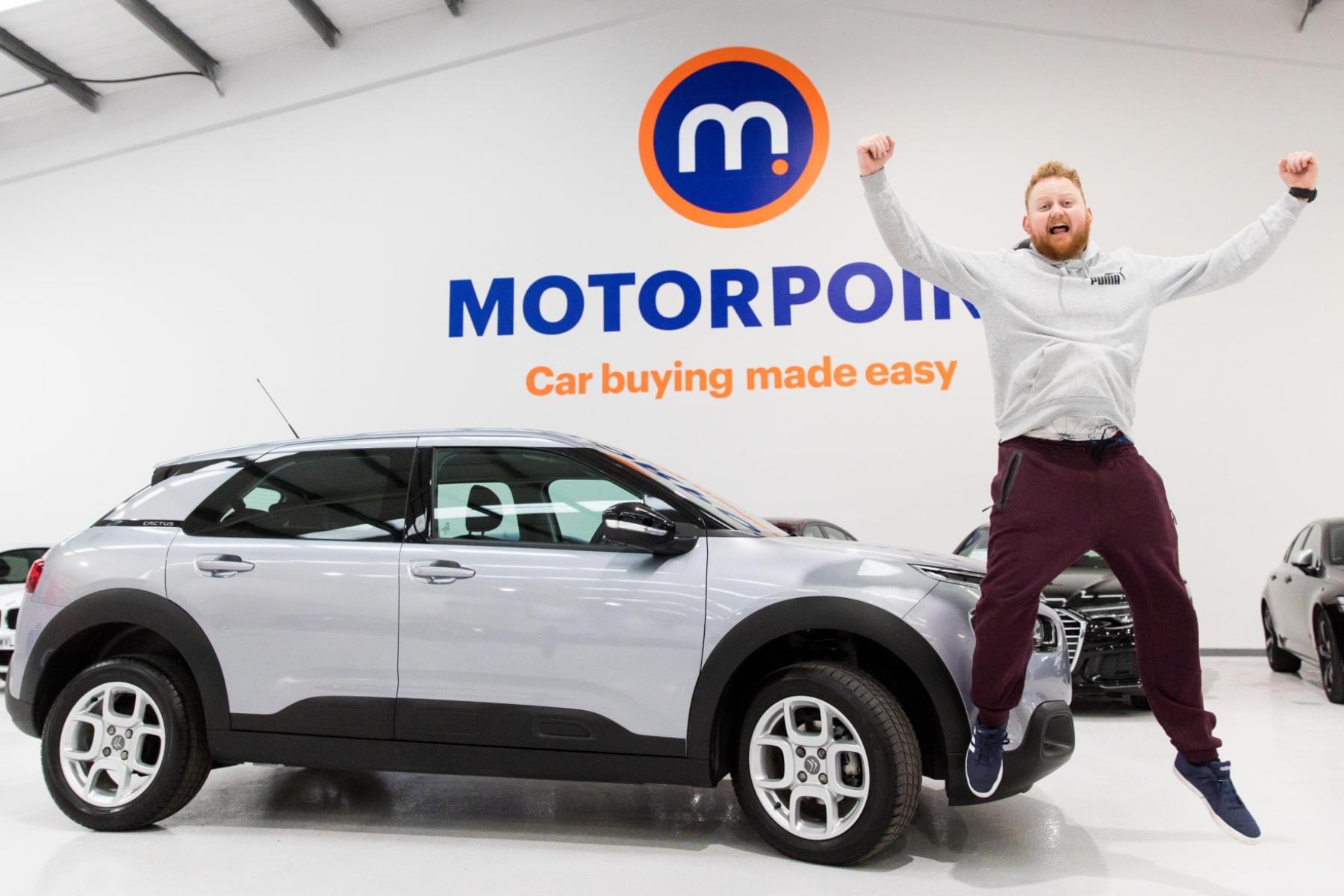 Jordan Randall Jumps for Joy at Motorpoint Swansea