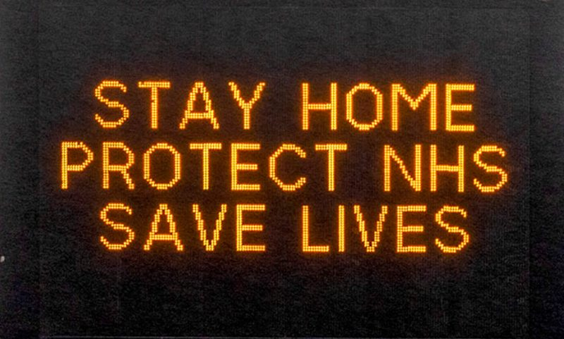 Stay home, protect NHS, save lives