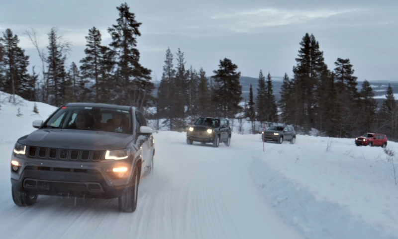 Jeep Renegade and Compass 4xe plug-in hybrids in extreme testing