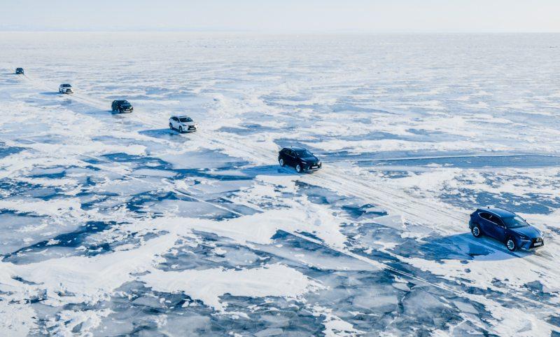 Lexus challenge Siberia