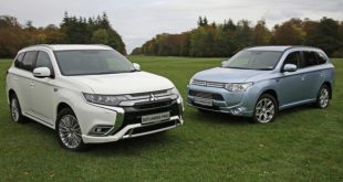 Mitsubishi Outlander PHEV 2014 and 2019
