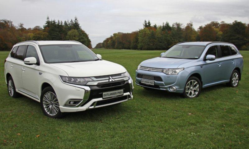 Mitsubishi Outlander PHEV 2014 and 2019