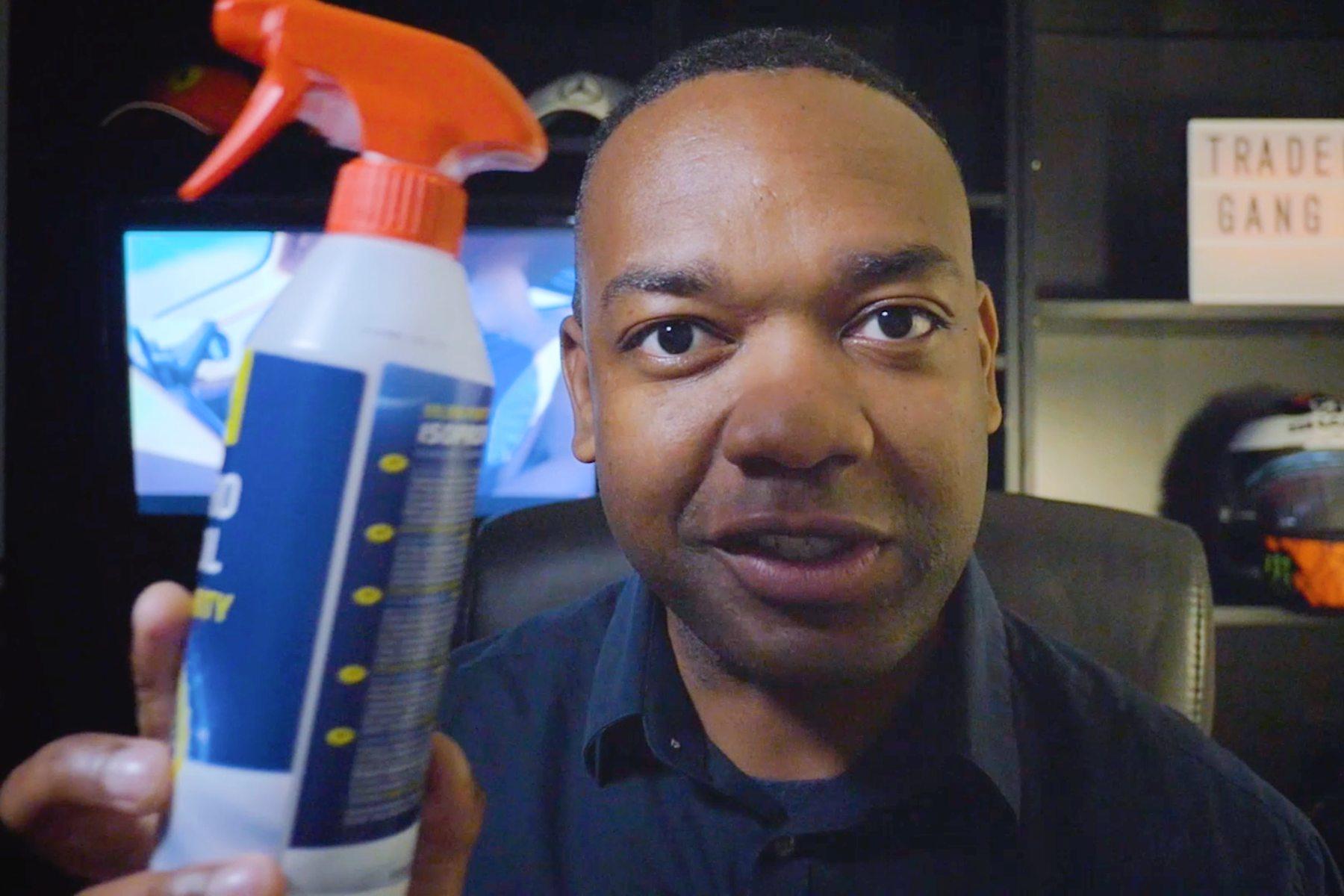 Rory Reid coronavirus car cleaning tips
