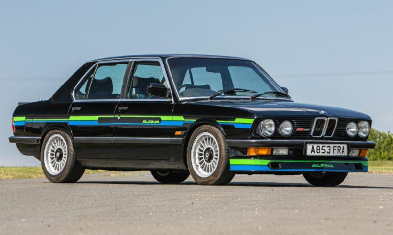 1983 BMW Alpina B9 3.5 (E28) Manuel