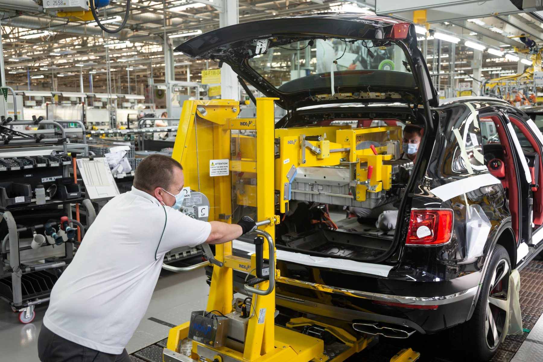 Bentley Motors Resumes Production