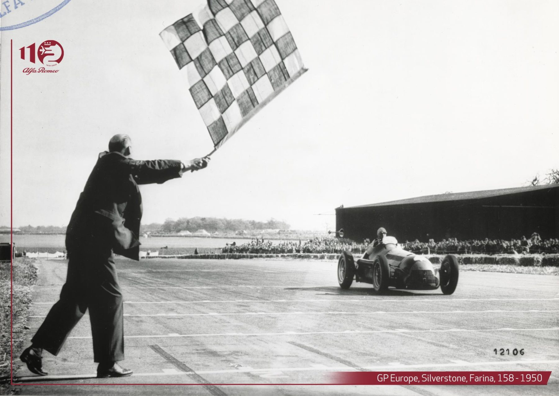 "First Formula One race winner - Giuseppe ""Nino"" Farina 1950"