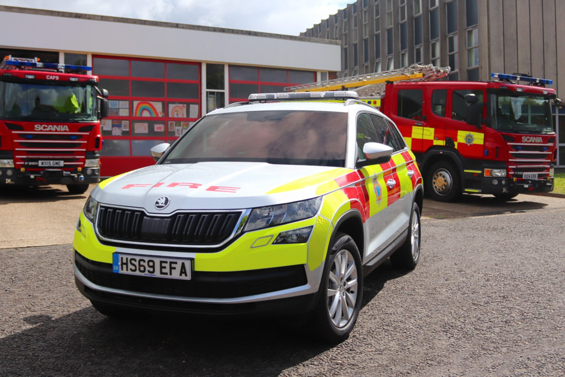 Skoda Kodiaq se joint à West Sussex Fire and Rescue