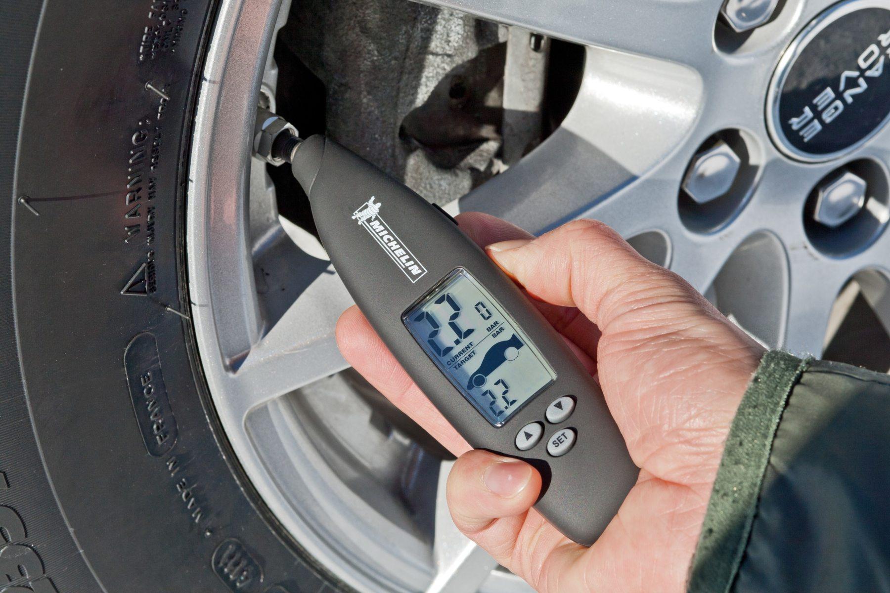 Tyre pressure - Michelin