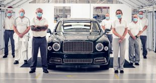 Bentley Mulsanne milestone