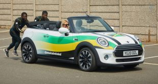 Shanwayne Stephens and Nimroy Turgott of the Jamaican bobsleigh team
