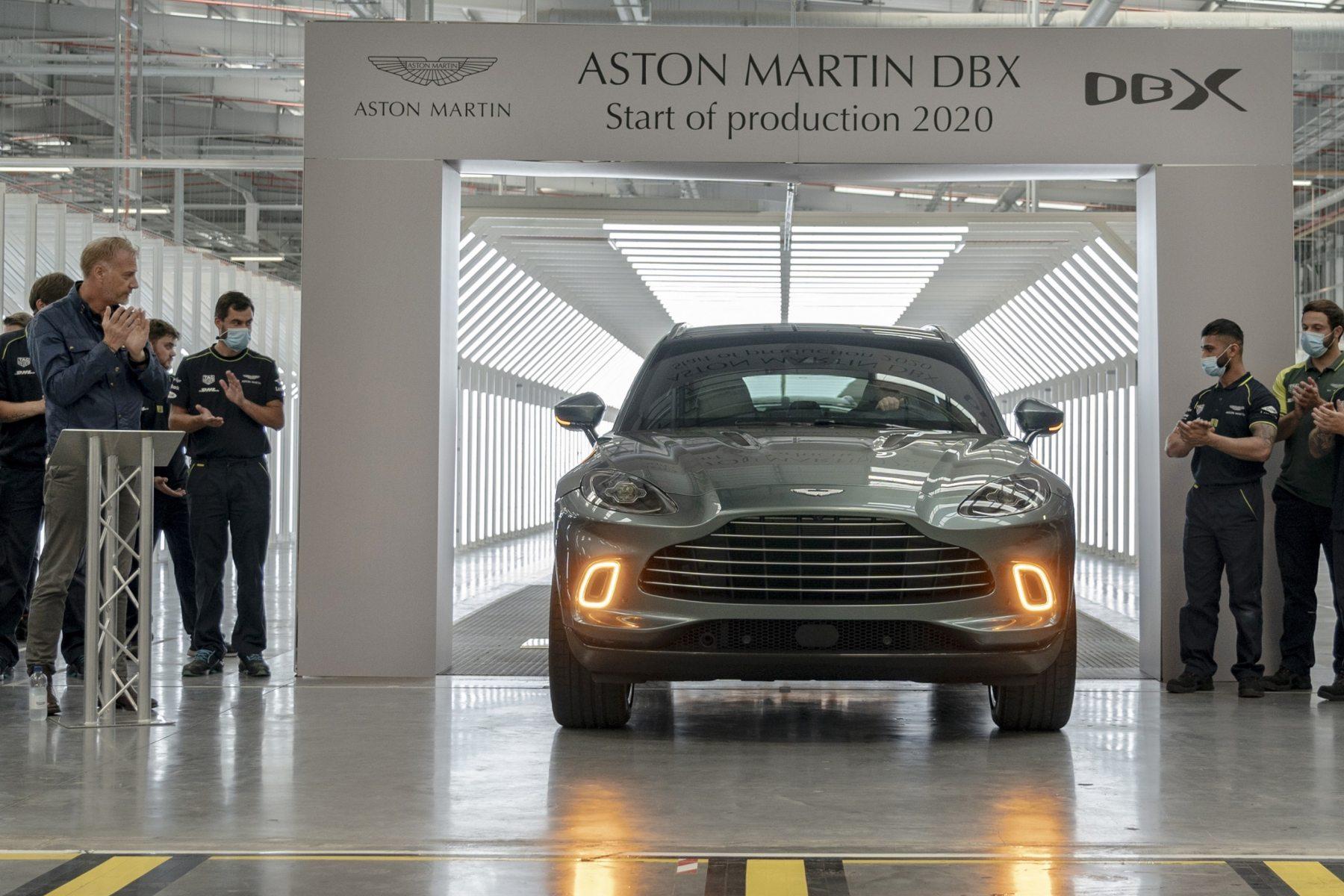 First Aston Martin DBX