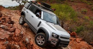 New Land Rover Defender - Goodyear 4x4 tyres