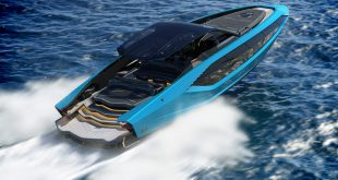 Lamborghini luxury speedboat