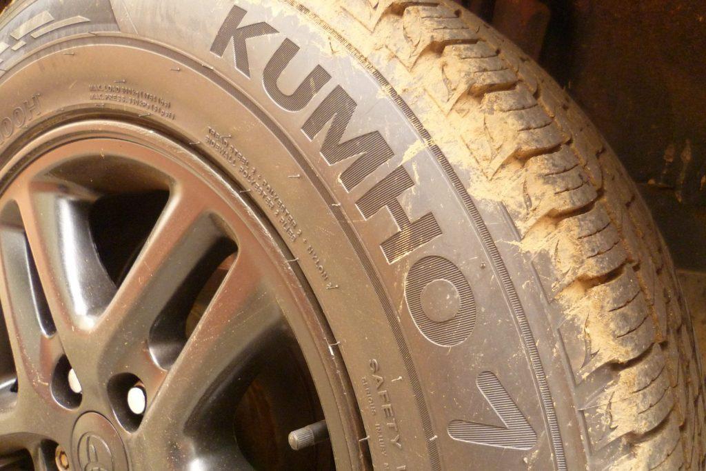 Toyota RAV4 Kumho Vrugen KL33 Tyres
