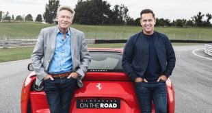 Lovercars hosts Tiff Needell and Paul Woodman