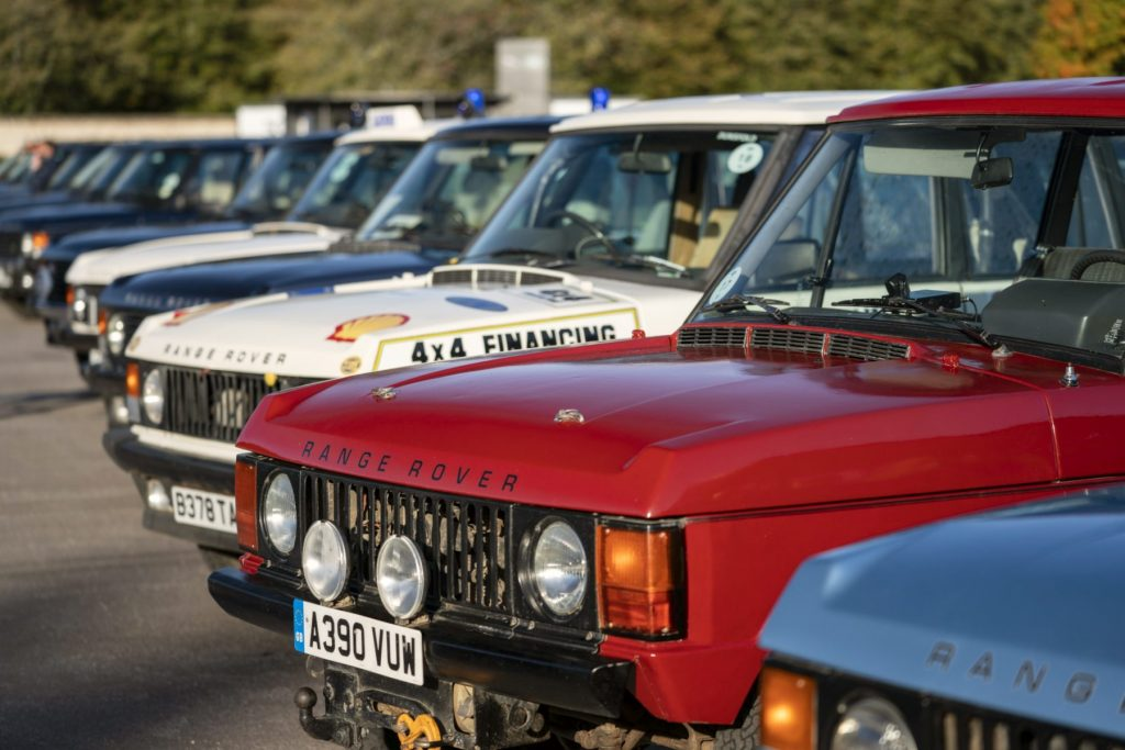 Range Rover 50th anniversary celebration - Goodwood 2020