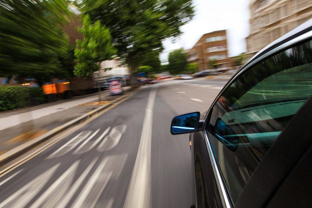 Speeding car - GEM Motoring Assist