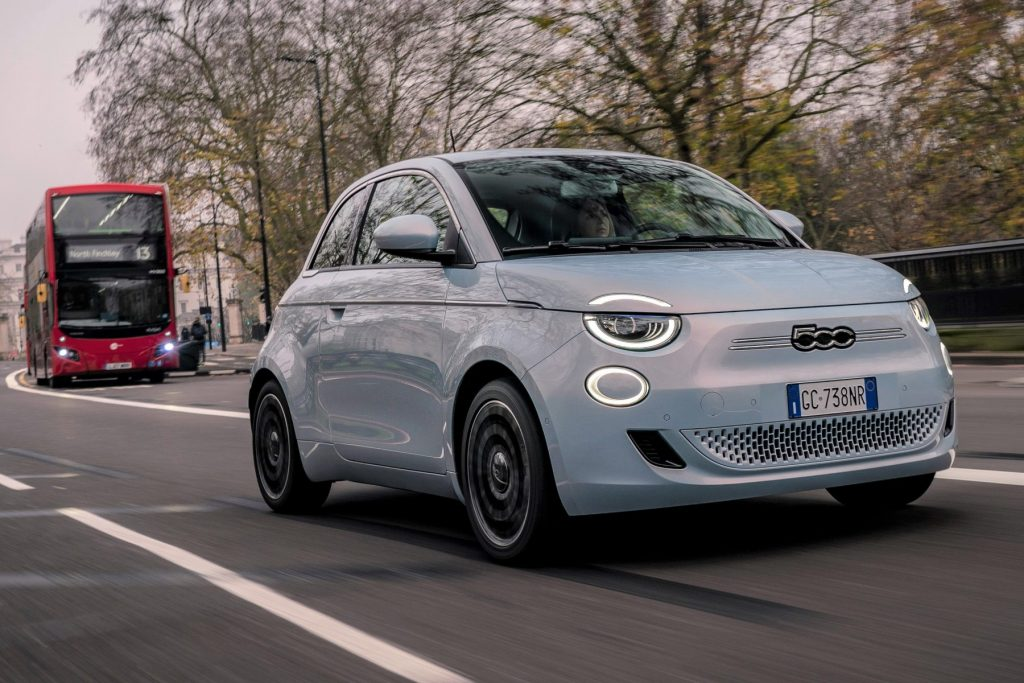 New electric Fiat 500