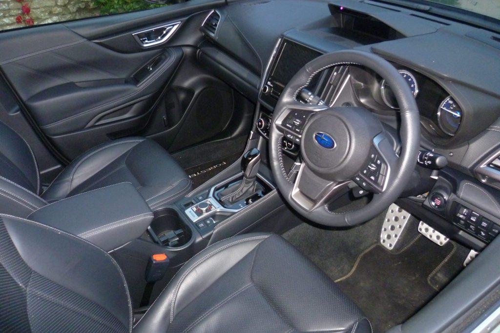 Subaru Forester e-Boxer review