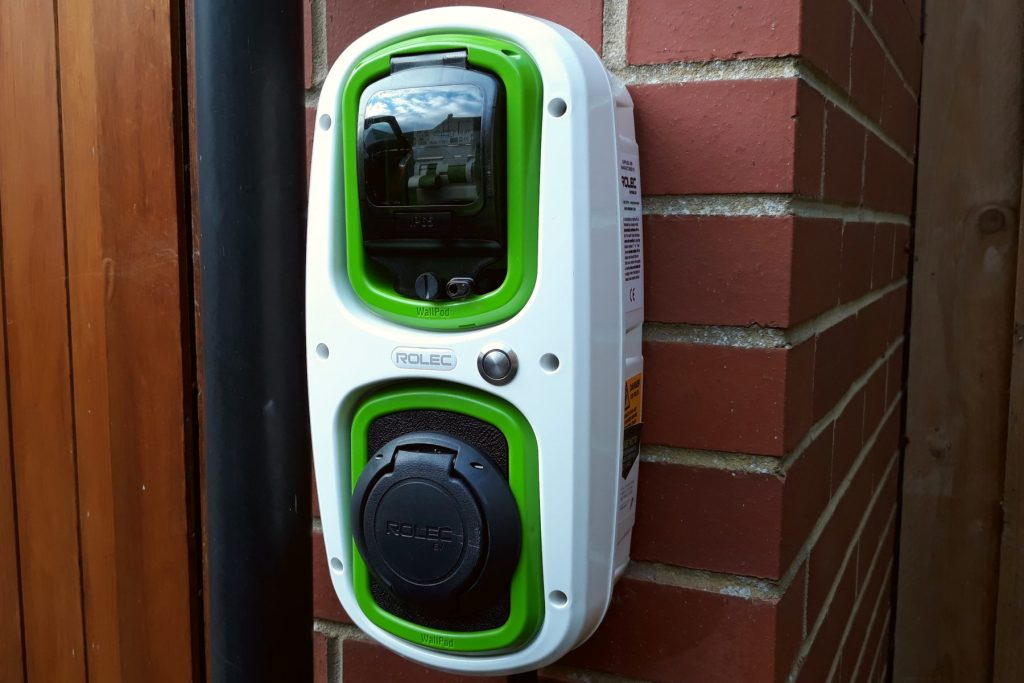 Rolec WallPod EV home charger