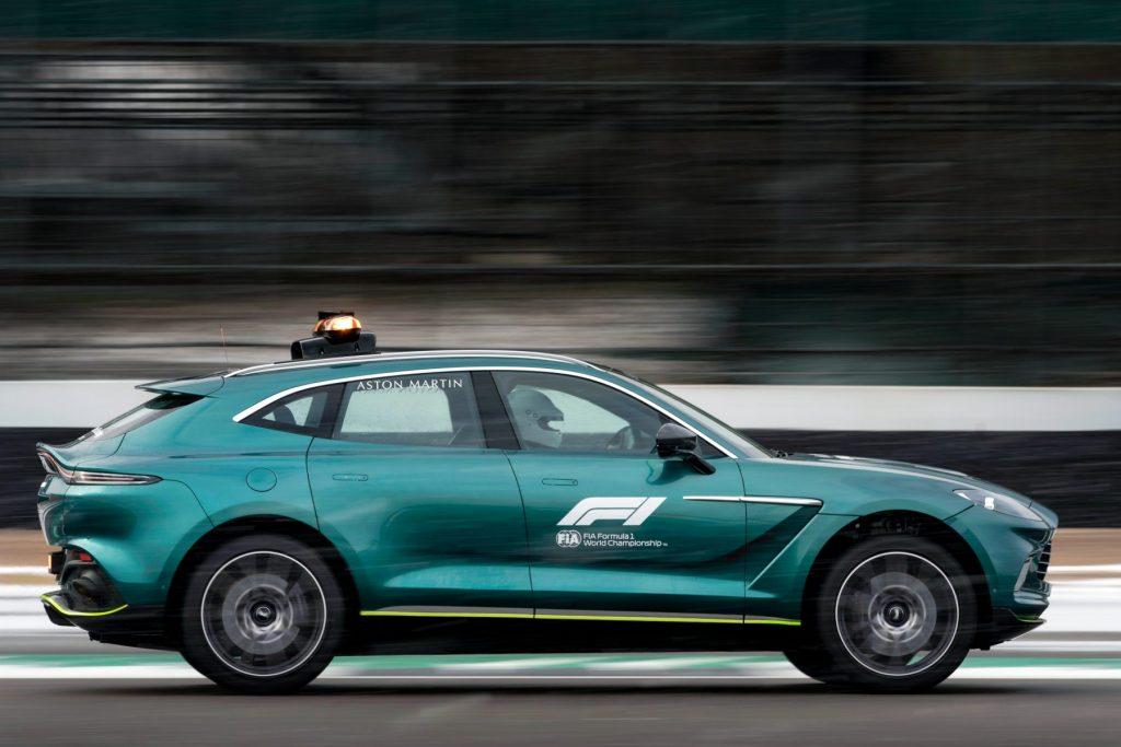 Aston Martin DBX - Official Medical Car of Formula 1