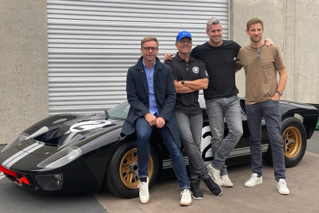 Mark Stubbs, Roger Behle, Ant Anstead and Jenson Button revive Radford
