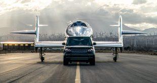 Range Rover Astronaut with Virgin Galactic's VSS Imagine