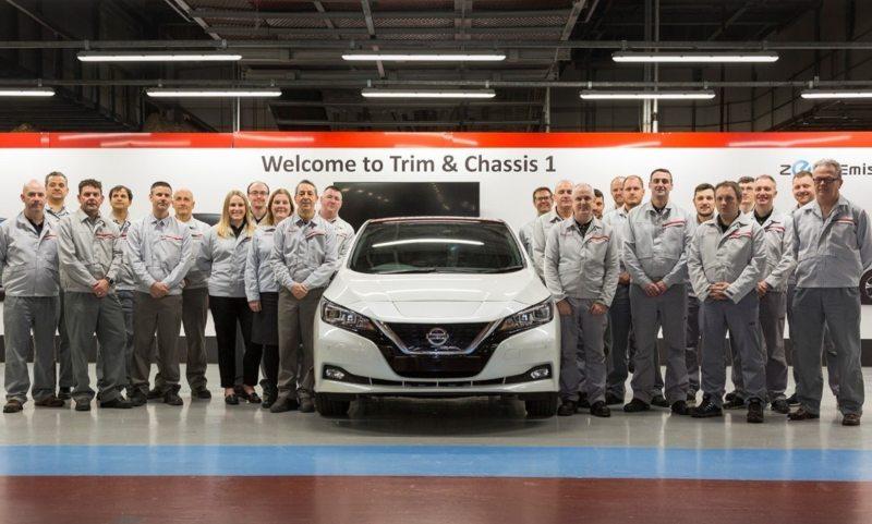 Record-breaking Nissan Leaf
