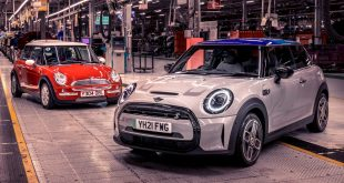 20 years of MINI production at Swindon and Oxford