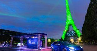 Toyota fuel cell tech lights up Paris