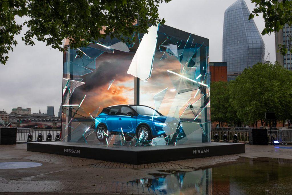 Nissan Qashqai   London South Bank show