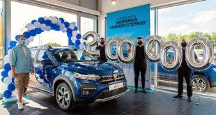 Dacia sells its 200,000th car in the UK