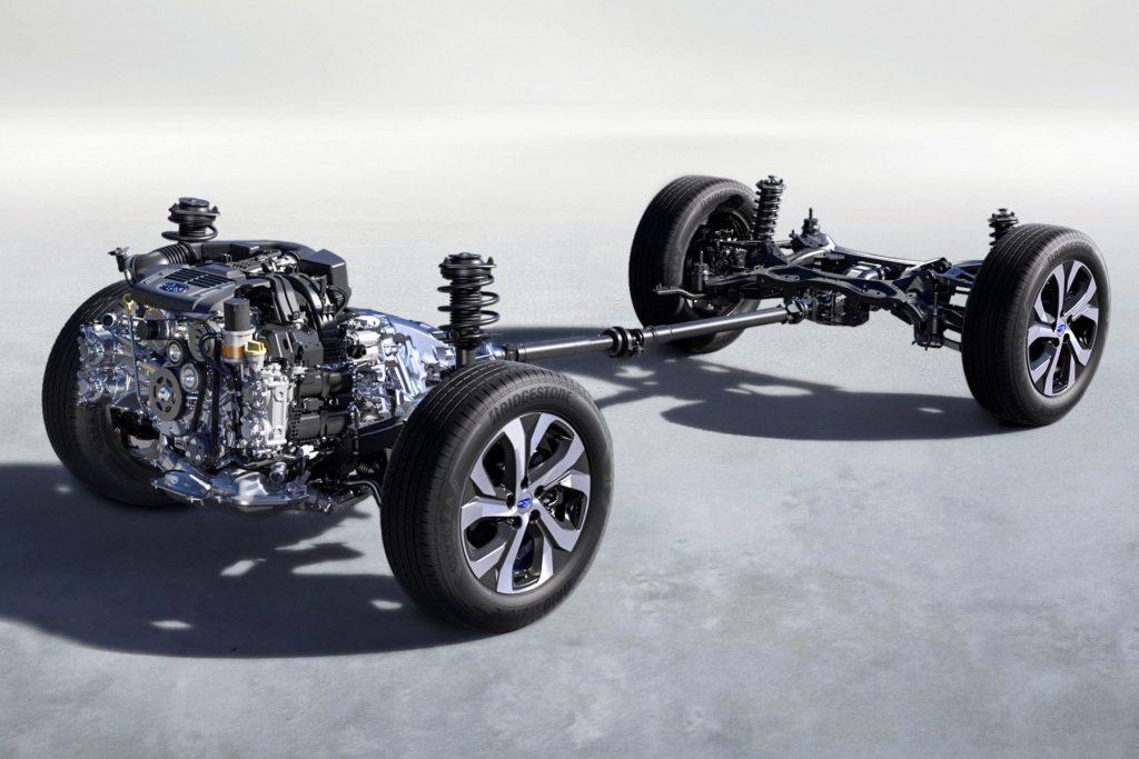Subaru's Symmetrical AWD system