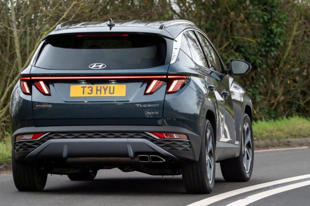Hyundai Tucson Hybrid review