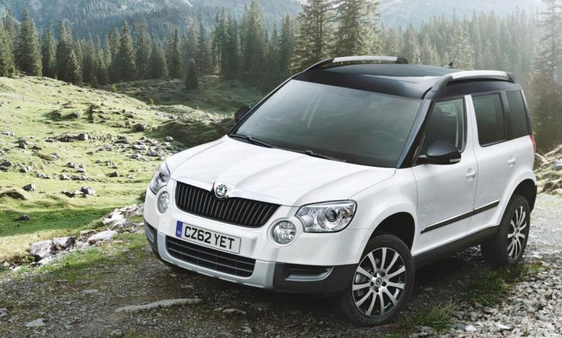 Skoda Yeti - Auto Express Driver Power survey winner