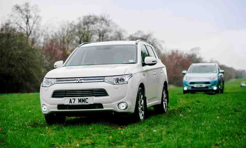 Mitsubishi Outlander PHEV (plug-in hybrid electric vehicle)