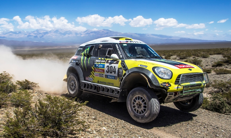 Dakar Rally winning MINI ALL4 Racing