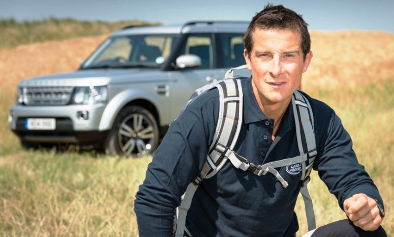 Land Rover signs up Bear Grylls as global ambassador