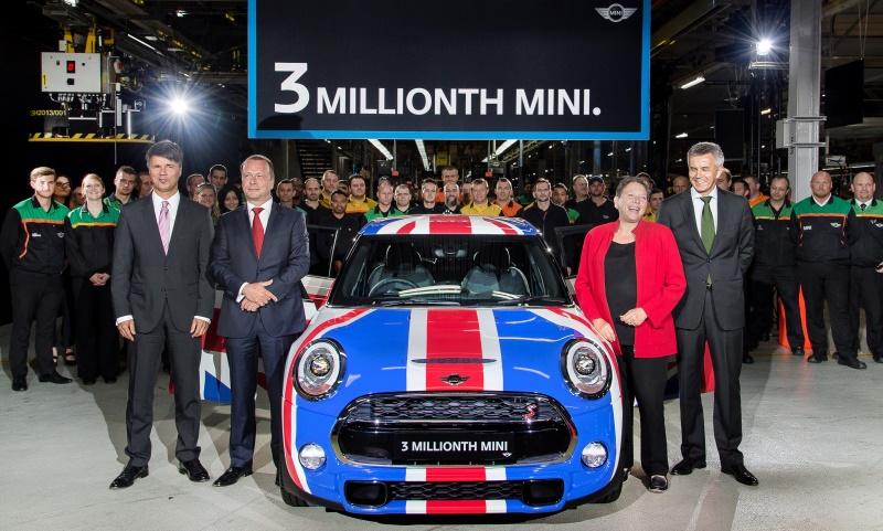 Three millionth 'new' MINI