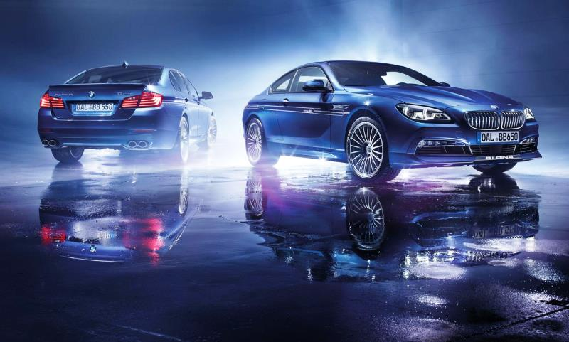 BMW Alpina 'Edition 50' cars