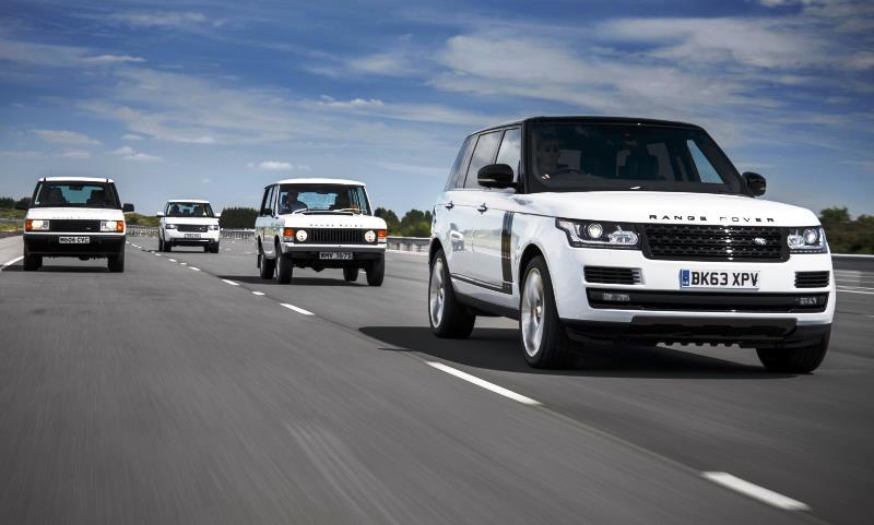 Range Rovers